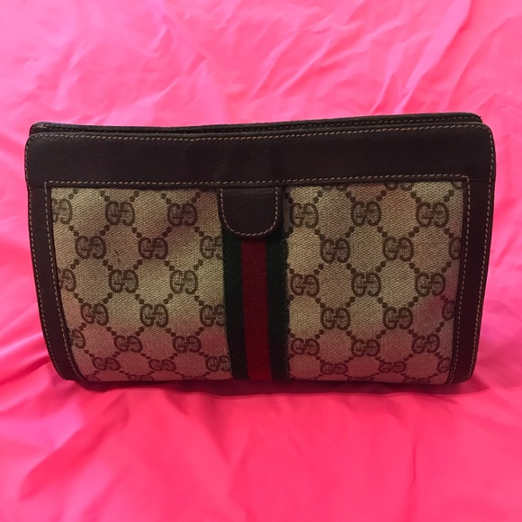 086311eb6a7918 Gucci Bags | Authentic Vintage Cosmetics Pouch | Poshmark